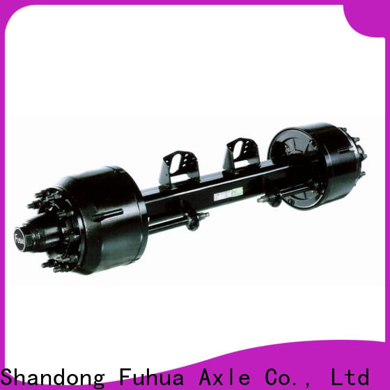 high quality braked trailer axles brand