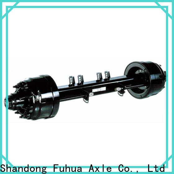 FUSAI high quality trailer axles supplier