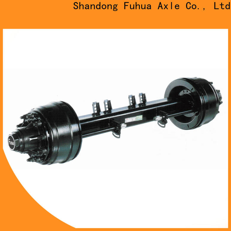 high quality trailer axles manufacturer