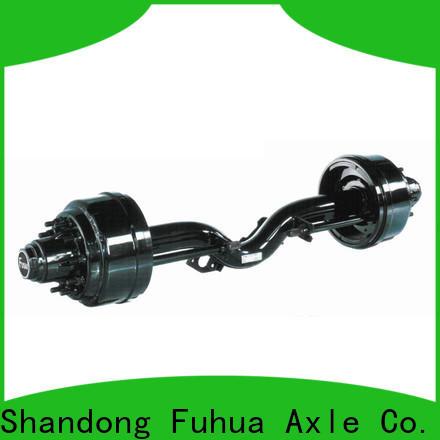low moq trailer axle parts brand