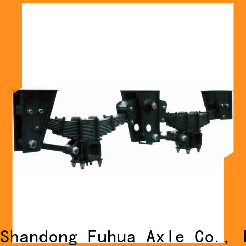 FUSAI oem odm independent trailer suspension from China