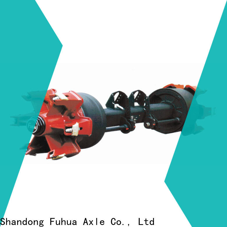 FUSAI oem odm trailer axles with brakes supplier